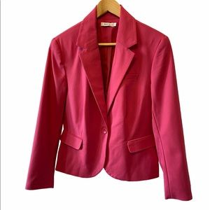 RICKIS Pink One Button Fitted Blazer 10